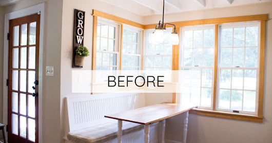 How to build a farmhouse breakfast nook table