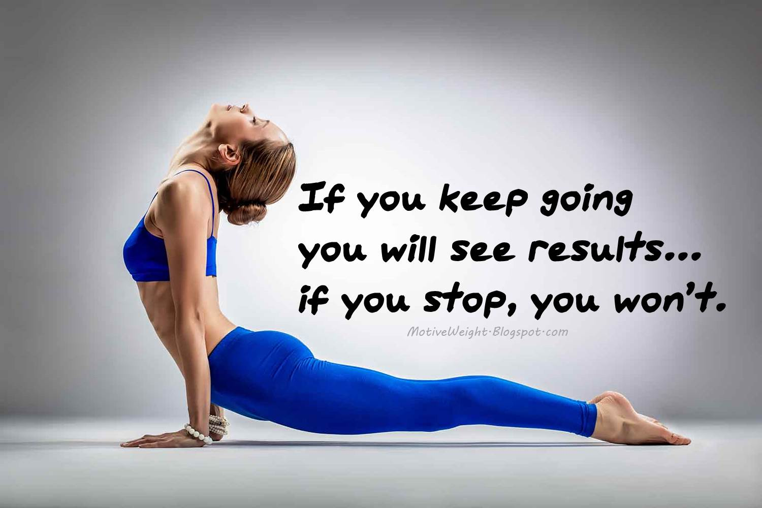 Fitness Quotes: MotiveWeight: Just Keep Going