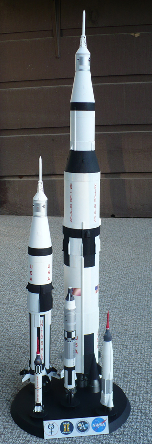 The Great Canadian Model Builders Web Page!: Man In Space