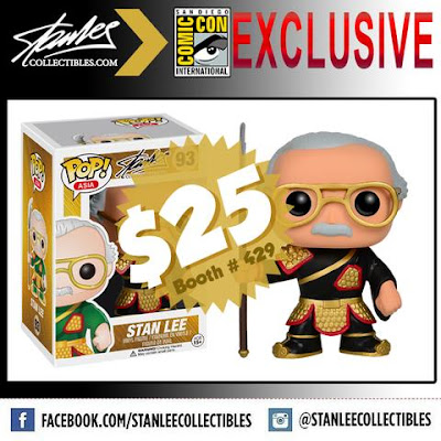 "San Diego Comic-Con 2016 Exclusive ""General Guan Yu"" Stan Lee Pop! Vinyl Figure by Funko"