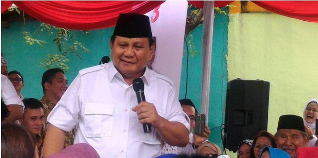 Mantab! Prabowo: Mau saya jadi presiden, Anies-Sandi harus menang