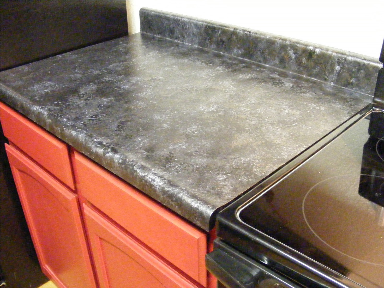 Black Faux Granite Countertops Bacon Time With The Hungry Hypo Giani Granite Countertops