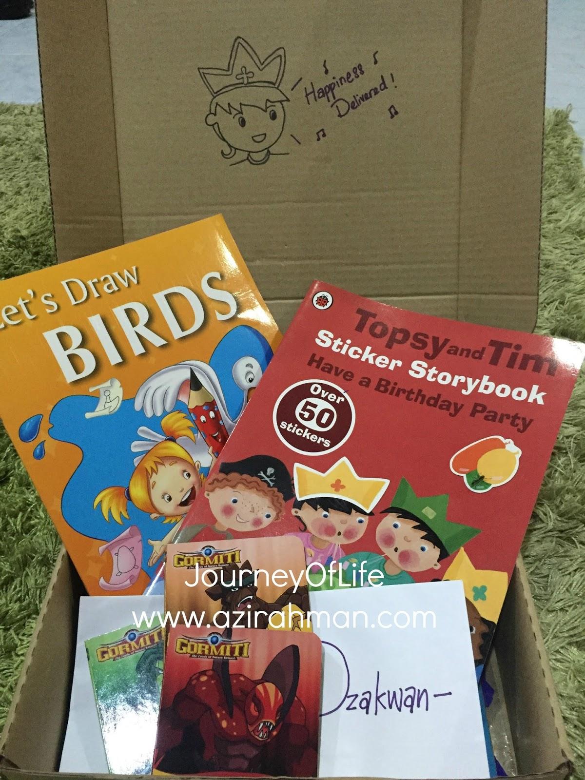 Dapatkan Buku-buku Menarik Untuk Anak-anak Anda di PEEKABOX