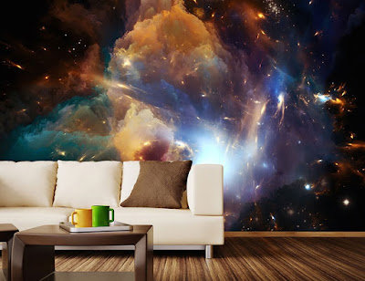 Escape Into The Space With Cosmic Wall Mural