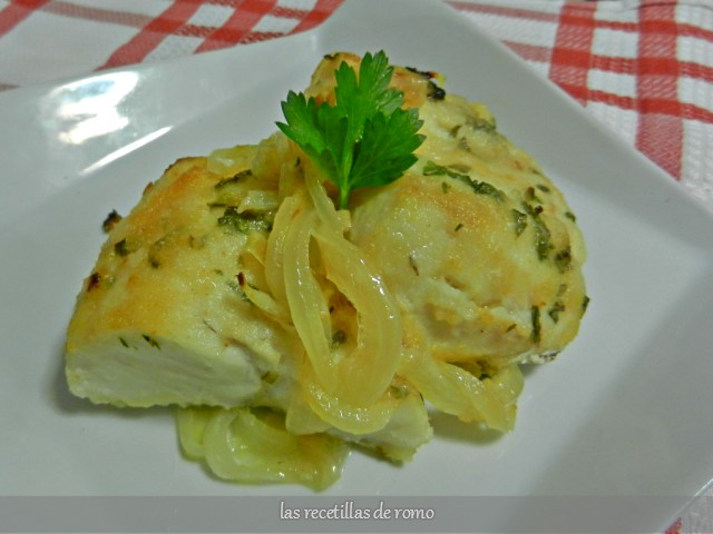 Merluza sencilla al horno las recetillas de romo for Merluza al horno facil