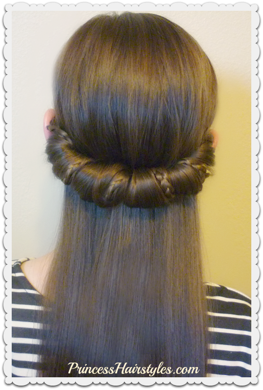3 Quick and Easy Hairstyles For School Using Headbands | Hairstyles For Girls - Princess Hairstyles