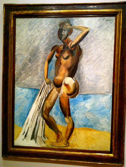 Bather, Pablo Picasso, 1908-1909