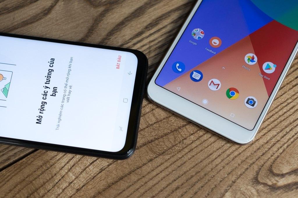 Chọn mua điện thoại giá rẻ dưới 5 triệu: Galaxy M20 hay Xiaomi Mi A2?