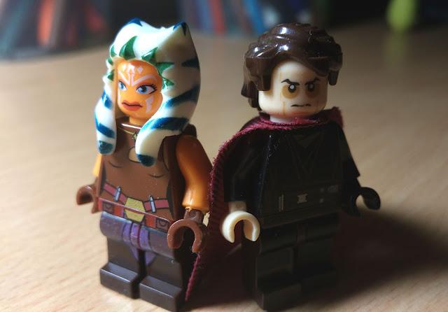 Ahsoka Tano and Anakin Skywalker Star Wars Rebels fan art