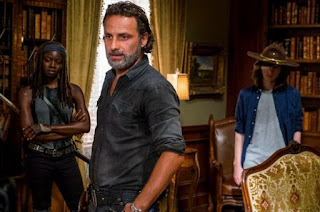 Rick Grimes padre protector en 'The Walking Dead'