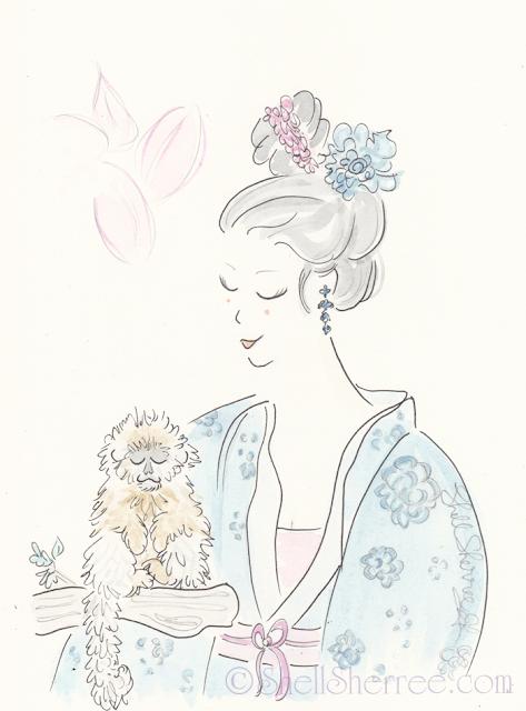 Fashion and Fluffballs illustration: Let's Monkey Around © Shell-Sherree