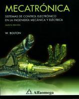 Mecatrónica - 5ta Ed - W.Bolton