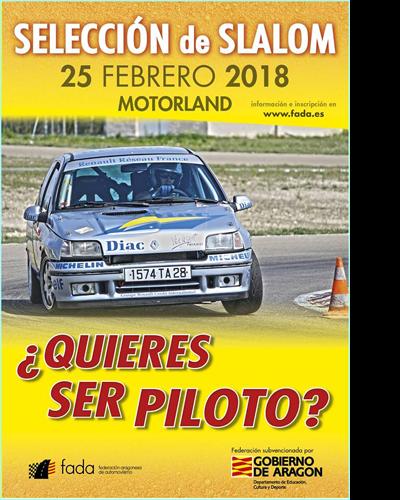 Selección Aragón de Slalom en MotorLand