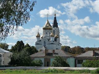 Житомир. Подол. Замковая гора. Свято-Крестовоздвиженский кафедральный собор