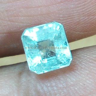 Cincin Batu Permata Zamrud Colombia - ZP 887