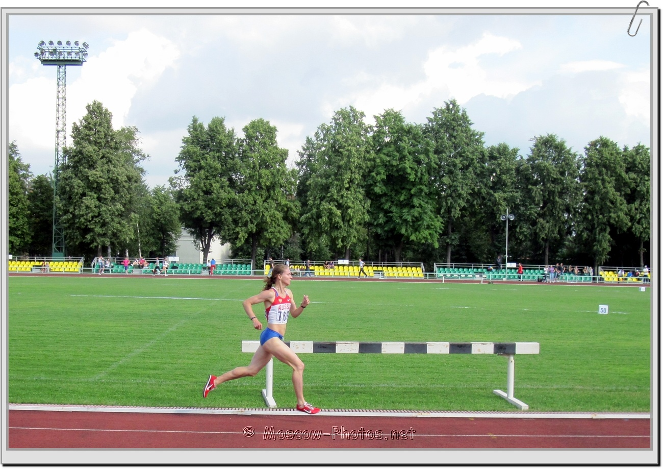 Runner at Moscow Athletics Open 2011