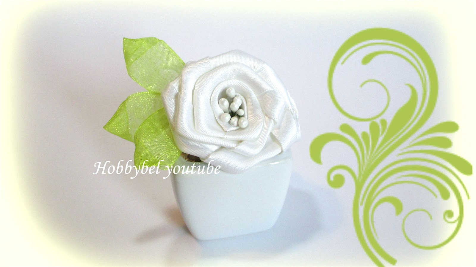 Rose Fai Da Te hobbybel blog & youtube: fiori fai da te: rose con nastro di