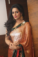 Udaya Bhanu lookssizzling in a Saree Choli at Gautam Nanda music launchi ~ Exclusive Celebrities Galleries 086.JPG