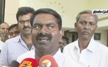 """Seeman Slams Jayalalithaa's Announcement On Alcohol Prohibition"" – Thanthi Tv"