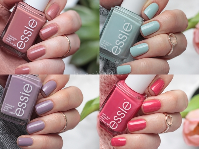 essie - Resort 2017 LE Tragebilder Swatches