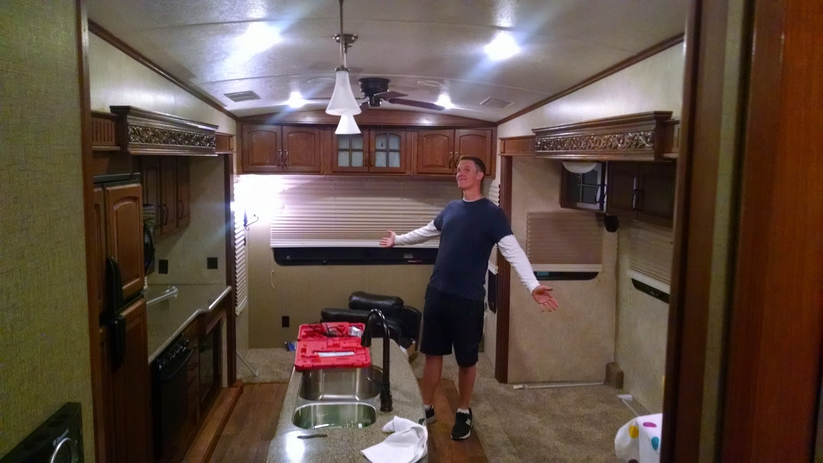 The Clippah Goes West Rv Remodel Part Two Ikea Izing