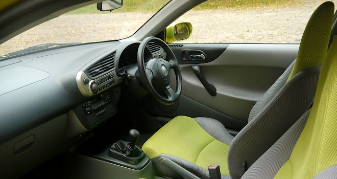 Original Honda Insight interior