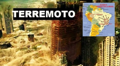 """ALERTA! - Meteorologia Prevê um Forte Terremoto no Brasil """"Vidente Carlinhos já Previa"""""""