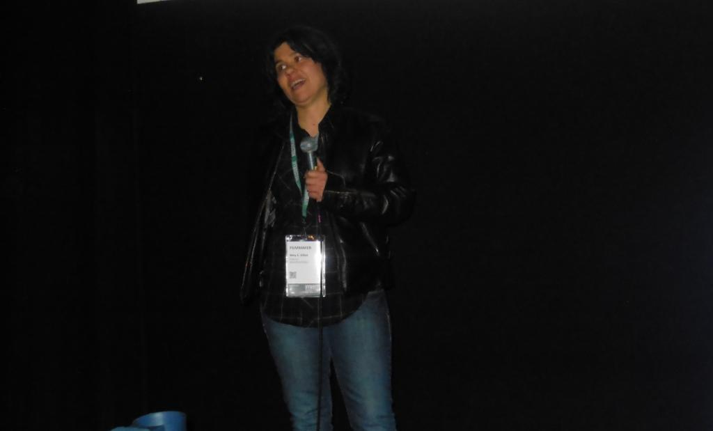WICKER KITTENS director Amy C. Elliott at IFFBoston 2014