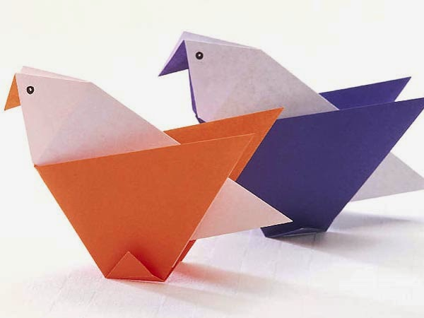 Fun And Easy Paper Craft For Kids Some Art And Craft Ideas