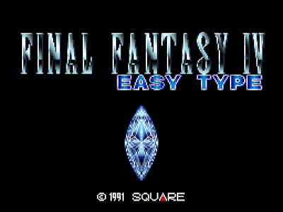 Final Fantasy IV Easytype - Título RPG