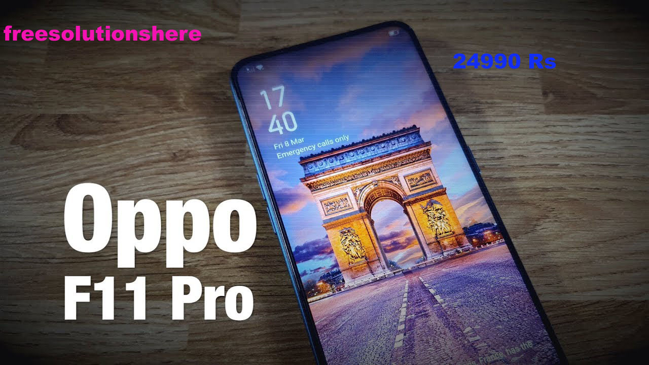 Oppo F11 Pro price,release date ,specifications and features