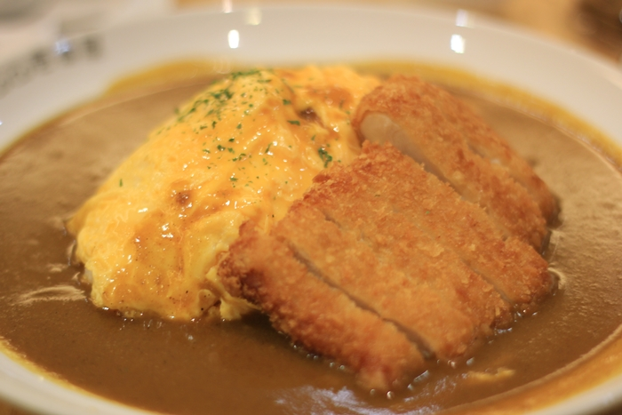 coco ichibanya curry chicken cutlet omelette | japobsganbare.blogspot.co.id