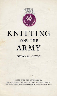 1940 guide to knitting comforts for soldiers