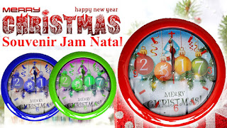 Souvenir Jam Natal