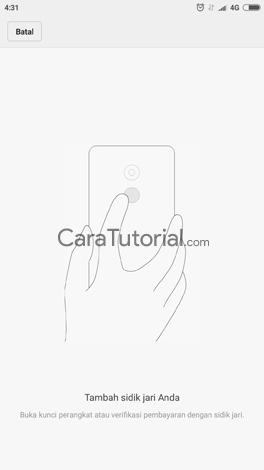 demo fingerprint android xiaomi redmi note 4x