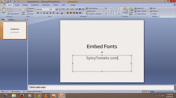 How to Embed Fonts in Microsoft Word and PowerPoint Document