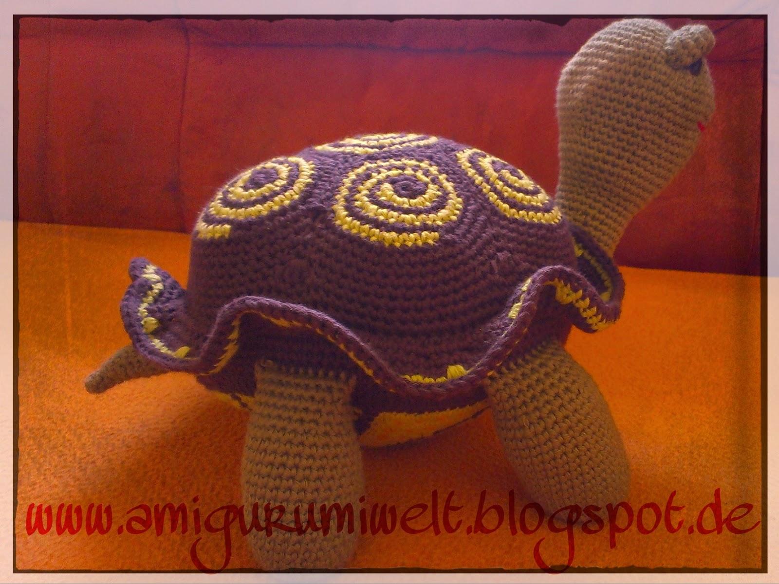 Wundervolle Amigurumi Welt Sato Die Schildkröte