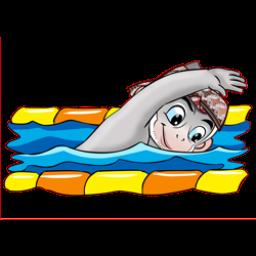 Logo dan Lambang Cabang Olahraga PON Jabar 2016 Renang
