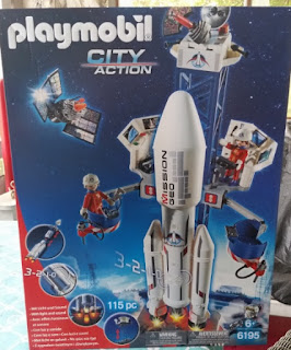 playmobil space center box