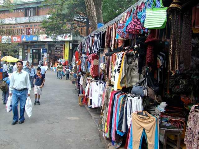 Mall Road Kasauli