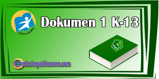 Download File Dokumen 1 Kurikulum 2013 Jenjang SMP/MTs Terbaru