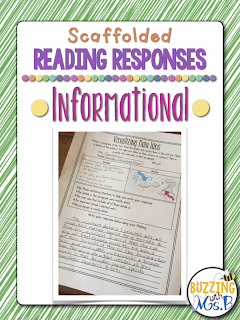 https://www.teacherspayteachers.com/Product/Scaffolded-Reading-Responses-for-Informational-Text-great-for-notebooks-2067077