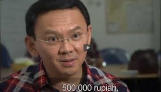 ahok sebut pendemo 4-11 bayaran 500000