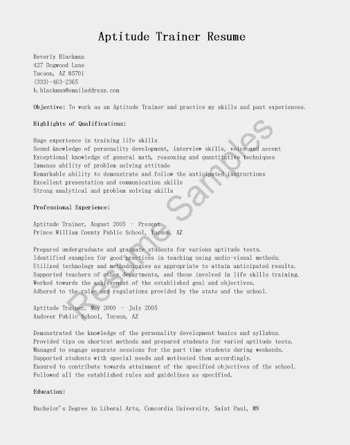 Horse Trainer Resume] Horse Trainer Resume Free Layout Format, Horse ...
