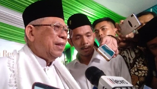 Oposisi Kritik Kinerja Jokowi, Ma'ruf Amin: Ente Ngorok Jadi Tak Paham