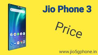Jio phone 3 Price in India