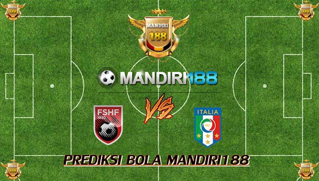AGEN BOLA - Prediksi Albania vs Italy 10 Oktober 2017