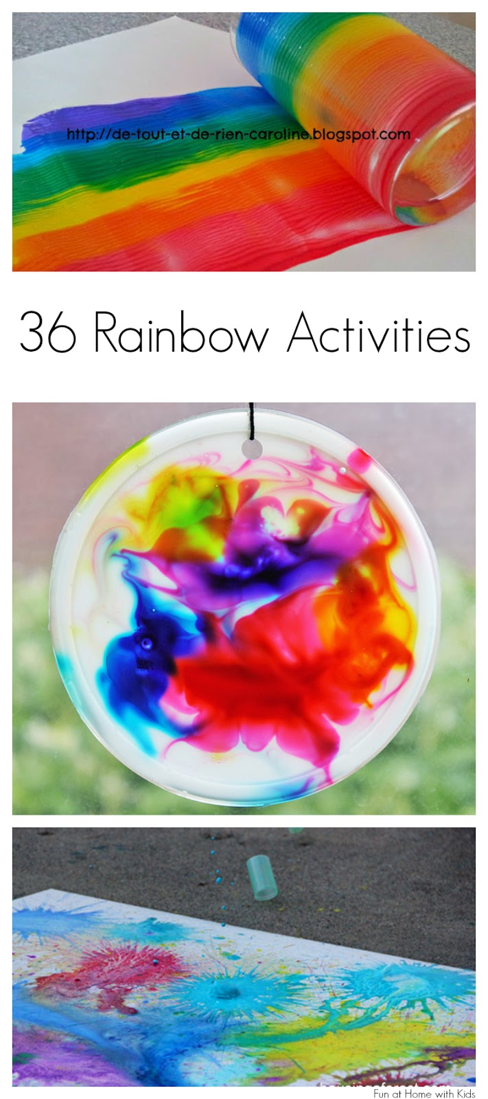 36 rainbow activities for babies toddlers preschoolers for Craft paint safe for babies