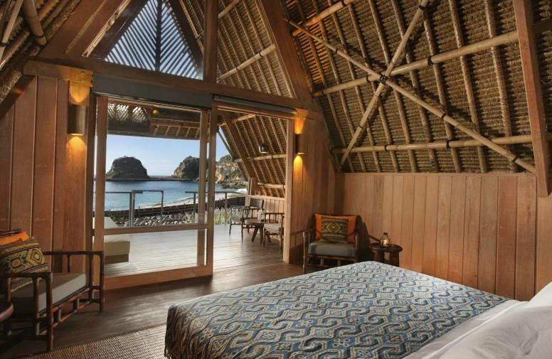 Gambar Hotel Dekat Pantai Pink Lombok Jeeva Bloam Camp Kamar Nyaman