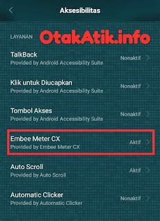aksesibilitas aktif embee meter cx